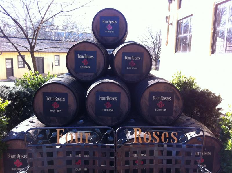 The Four Roses distillery in Lawrencburg, Ky