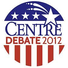 The official logo for the 2012 Vice Presidential debate at Centre College