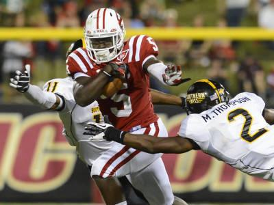 WKU running back Antonio Andrews ran for a career-high 136 yards against the Golden Eagles.