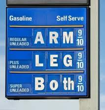 This is what many motorists think they see when they fill up their vehicles.