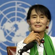 Aung San Suu Kyi will speak in Louisville Sept. 24.