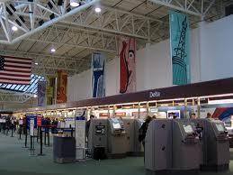 Interior shot of Nashville International Airport
