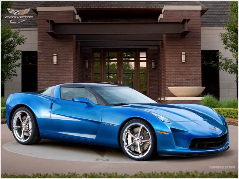 The 2013 Corvette C7, one of the last models of the car to be produced ahead of a February idling of the plant.