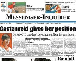 The Owensboro Messenger-Inquirer is involved in a legal battle with the city it covers.