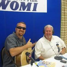 Owensboro radio personality Joe Lowe, on the right, was a mainstay at WOMI-FM.