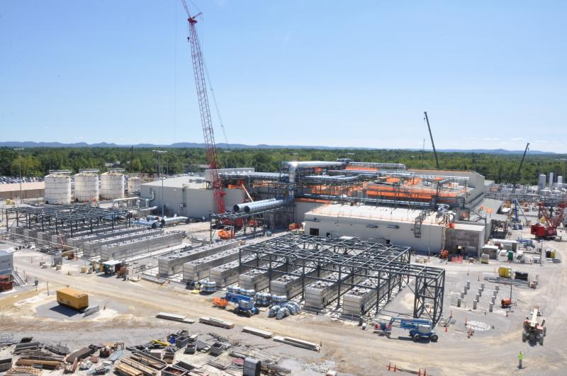 A chemical weapons disposal facility is under construction and scheduled to be completed by 2015, although it's not expected to become operational  until 2020.
