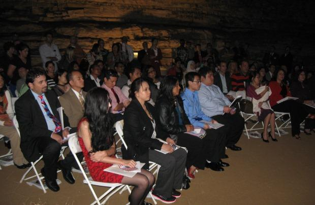 Thirty-nine immigrants from 22 countries participated in a naturalization ceremony on Friday at Mammoth  Cave National Park.
