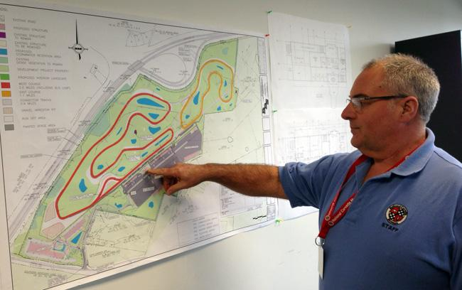Mitch Wright describes planning for the Motorsports Park at the Corvette Museum