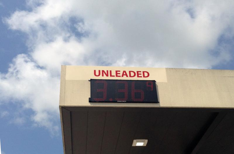 Gas prices at Somerset's city-owned fuel center were in line with other gas stations around town