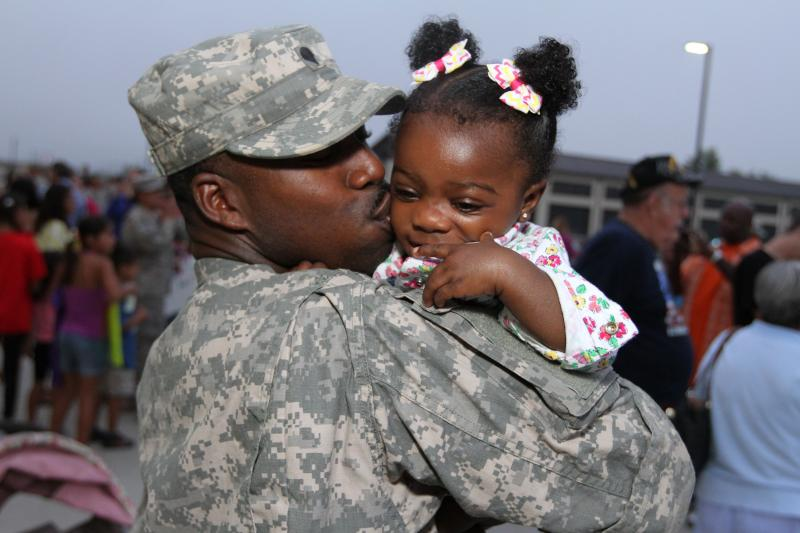 Members of the 19th Engineer Battalion were welcomed home to Ft. Knox Saturday morning.