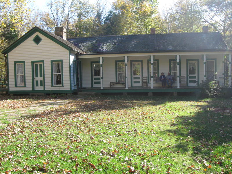 The Bill Monroe Homeplace near Rosine, Kentucky is located on Jersusalem Ridge.  The House has been restored and is open to visitors.
