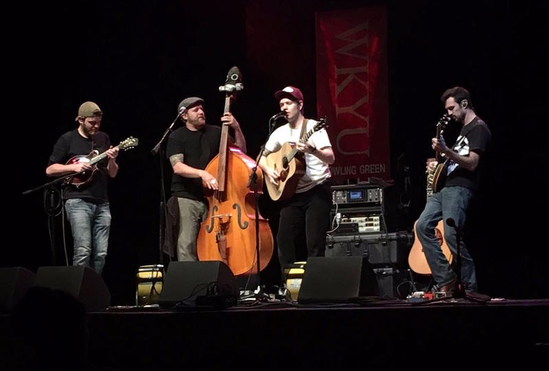 Billy Strings and his band