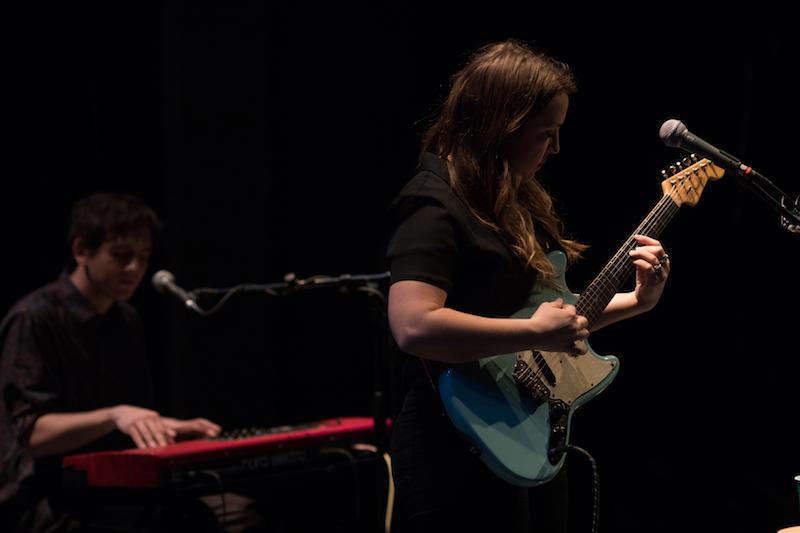 Jordan Reynolds (guitar) and Parker Hanna (keyboard) of Rose Hotel