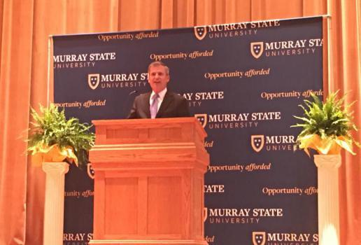 heiner outlines vision for kentucky education reform in murray state