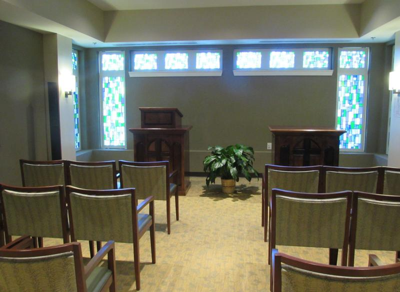 The chapel at Radcliff Veterans Center