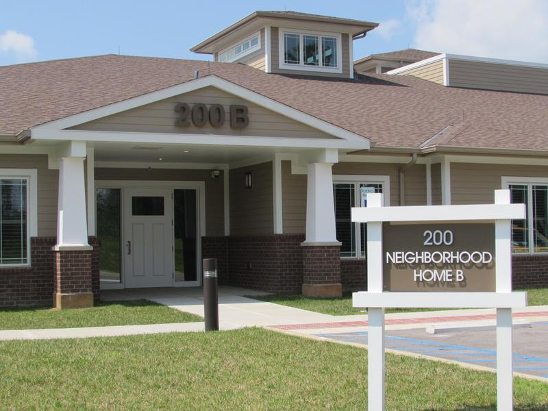 "The ""neighborhood"" design creates communities at the Radcliff Veterans Center."