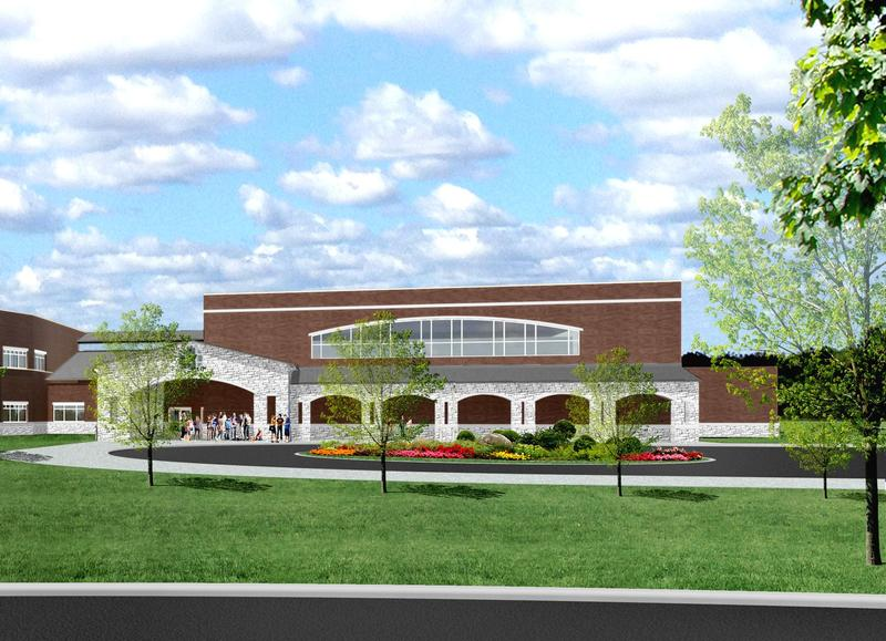 Jennings Creek Elementary architect's rendering