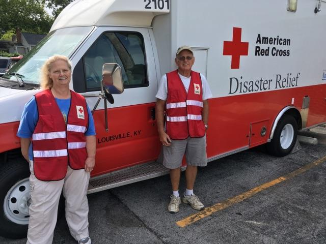 Carol Gray of Bowling Green is volunteering with the American Red Cross to provide relief to victims of Hurricane Harvey in Texas.