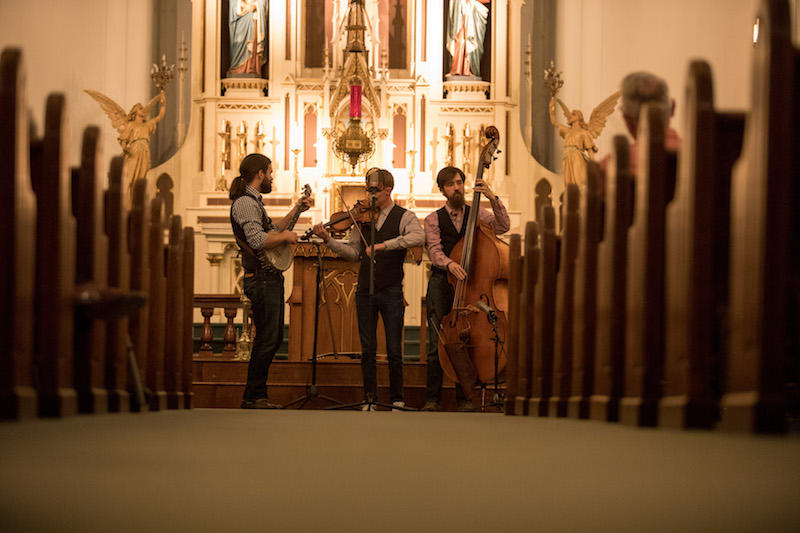 Misty Mountain String Band at St. Joseph's Catholic Church