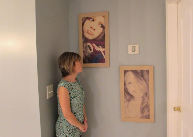 Melanie Carter-Hack has photos of her daughter, Reagan Carter, throughout the house.