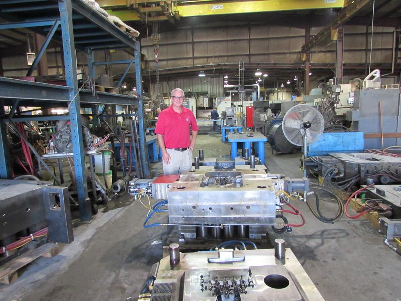 Chris Guthrie is president of Trace Die Cast in Bowling Green.