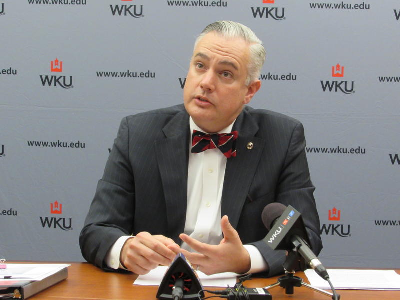 WKU President Timothy Caboni