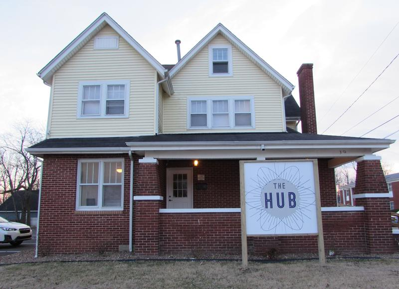 The Hub is a coworking space, business incubator and a remote work training center in the town of Hartford in Ohio County.