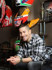 Nicky Hayden at home in Owensboro.