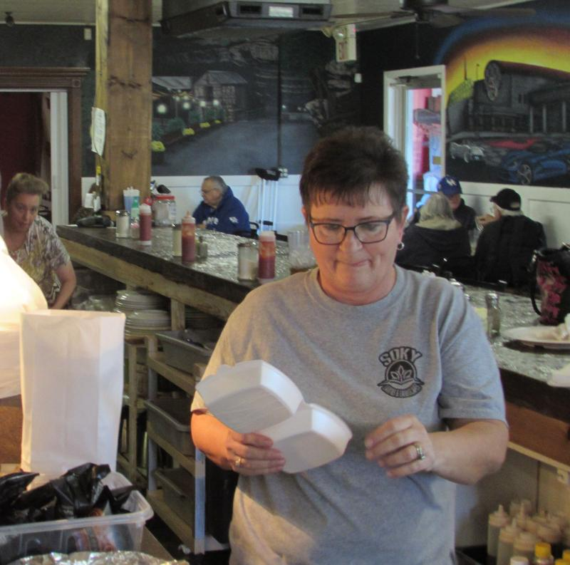Sarah Duff is manager of Lisa's 5th Street Diner in Bowling Green, Kentucky.