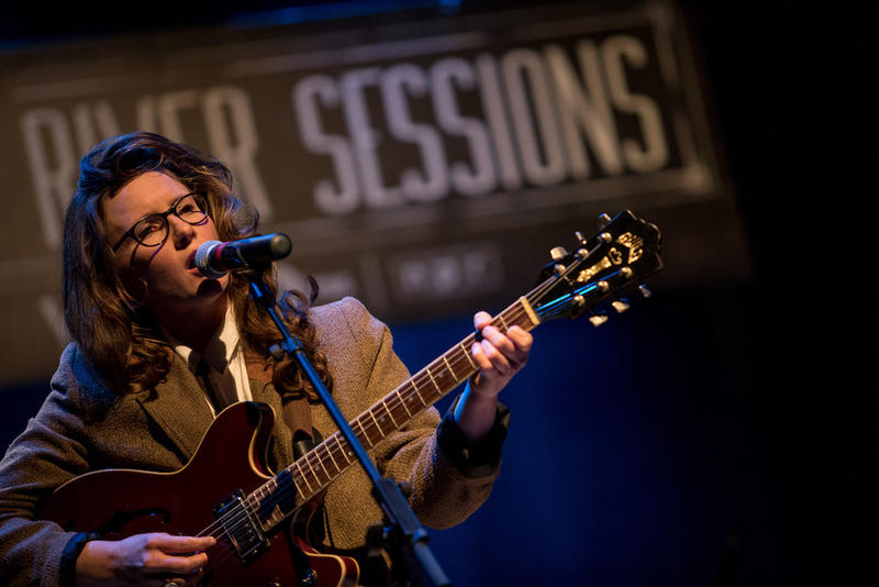 Shaina Goodman of the Savage Radley performs at Lost River Sessions LIVE, Jan. 18, 2019