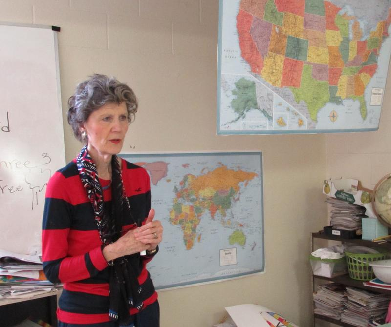 Beth Clark is an English teacher at the Refugee Elder Program in Louisville, Kentucky.