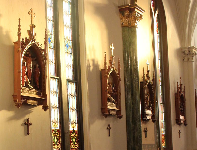 The Stained Glass Music Series takes place four times per year at St. Joseph's Catholic Church in Bowling Green