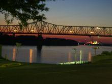 The Glover Cary Bridge in Owensboro