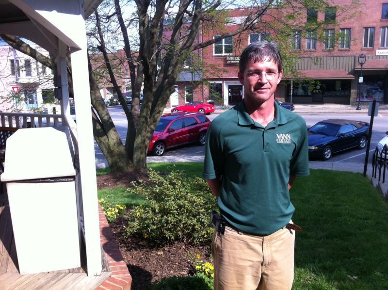 Chris Thomason, former meth addict and Barren County Drug Court graduate