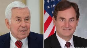 Sen. Richard Lugar (left), and State Treasurer Richard Mourdock