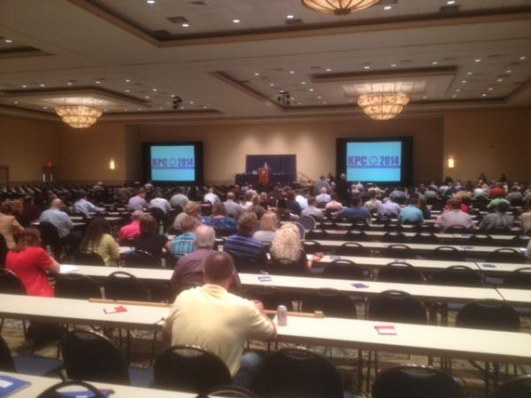 Over 600 prosecutors are in Lexington this week for the annual Kentucky Prosecutors Conference