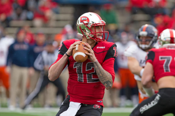 Western Kentucky quarterback Brandon Doughty ends career with bowl victory