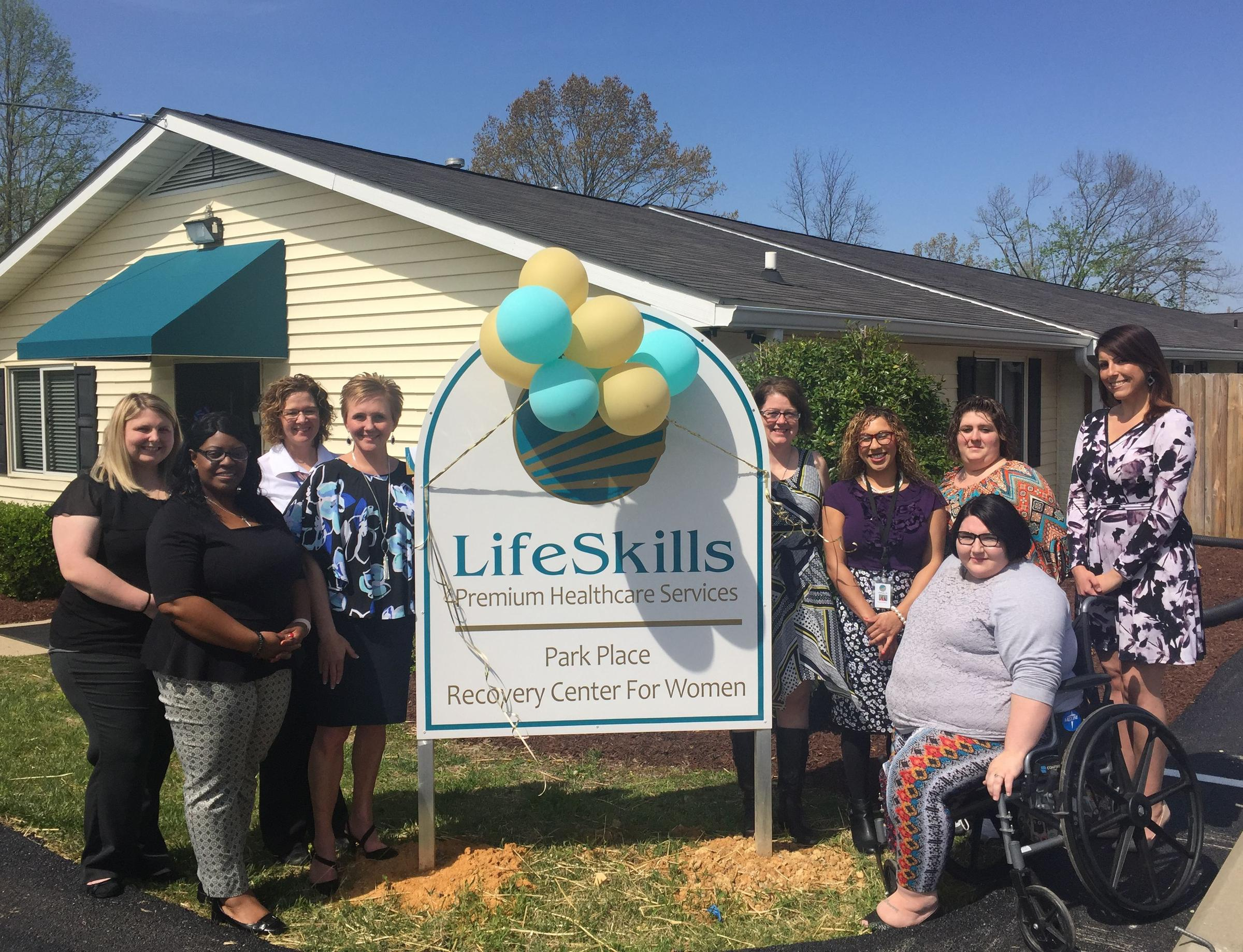 lifeskills opening scottsville recovery center for women with