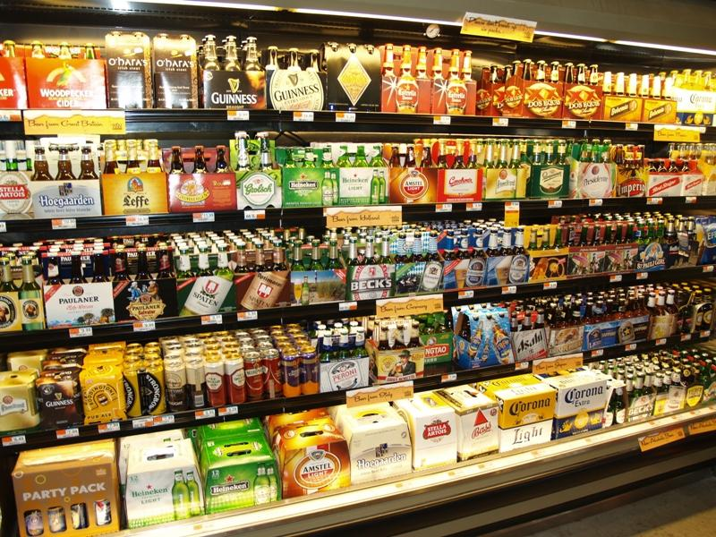 IN  lawmakers give the cold shoulder to cold beer bill