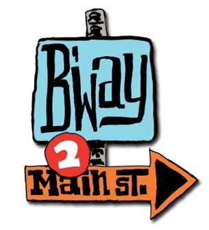 Broadway to Main Street Logo