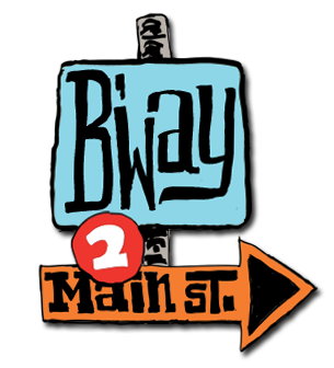 Broadway to Main Street Logo