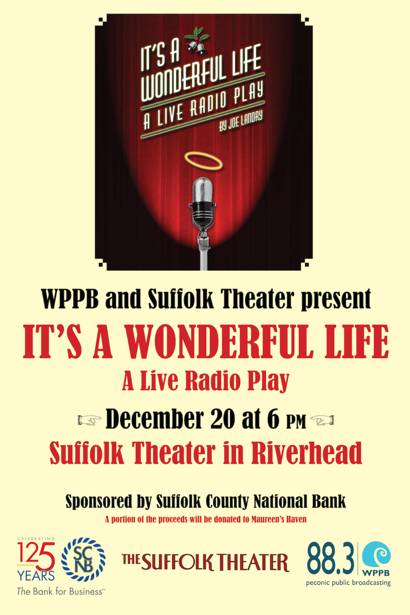 88.3 WPPB-FM's It's A Wonderful Life at the Suffolk Theater