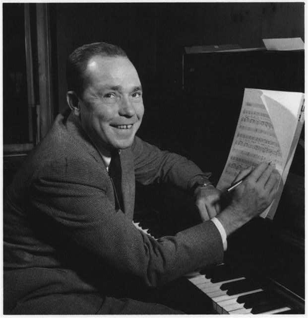 American composer, lyricist and songwriter Johnny Mercer.