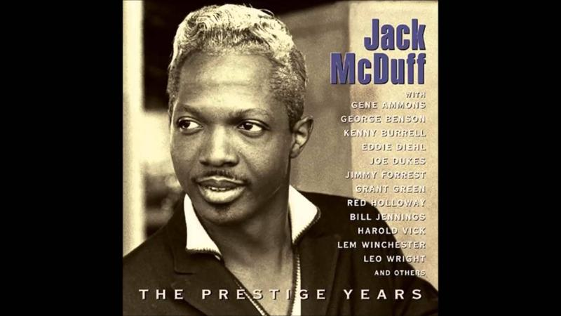 "Album cover from ""Jack McDuff, The Prestige Years."""