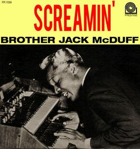 Screamin' Brother Jack McDuff - album cover.