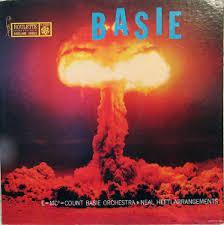 Atomic Basie (atom bomb image) album cover.
