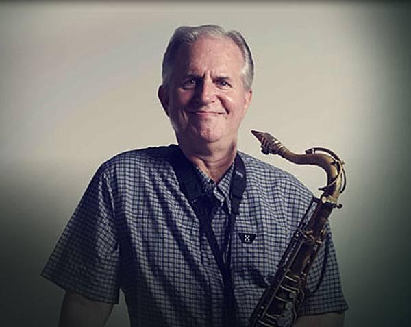Scott Hamilton, jazz tenor saxophonist.