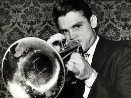 Chet Baker, jazz trumpeter.