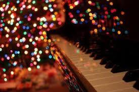 Christmas jazz piano.