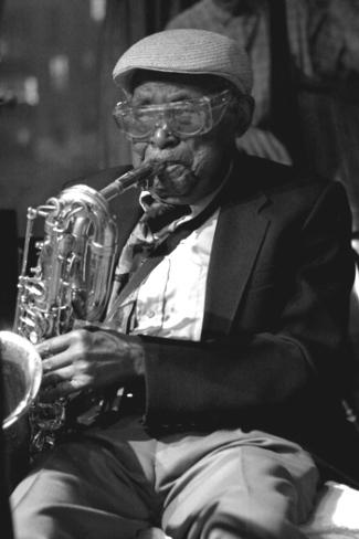 Cecil Payne performing at Kitano Hotel in New York City, NY in 2006.